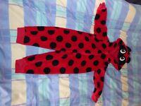 Ladybird Onesie, 12 – 18 months, M&S
