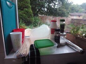 Various kitchen essentials