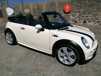2008 Mini Convertible Cooper S Supercharged (not MX5 S2000 MGF softop cabrio)
