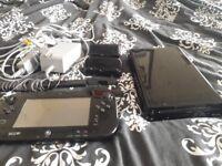 Nintendo wii u and 3 games
