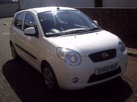 2010 60 KIA PICANTO 1.1 DOMINO 5DR ** 36000 MILES ** ONE OWNER FROM NEW ** £30 ROAD TAX **