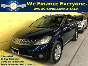 2006 Nissan Murano SL with SUNROOF 172K