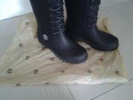 timberland wellies size 4 uk 37 as new