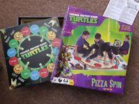 Teenage Mutant Ninja Turtles Pizza Spin Game