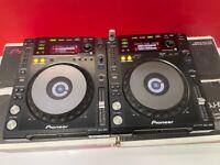 2x Pioneer CDJ 850 CD USB DJ Decks Boxed