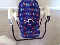 Baby Rocking / Swing Chair - Open top take along swing