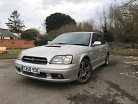 CHEAPEST Subaru B4 Twin Turbo, low miles and long mot