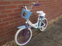 Girls 16inch Frozen bike