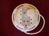 MASTER PLUG 13 AMP 4 SOCKET EXTENSION LEAD .
