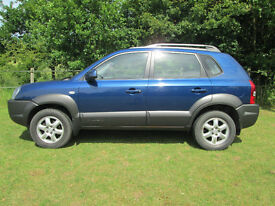 Hyundai Tucson CRD 4WD........Located in Offton IP8