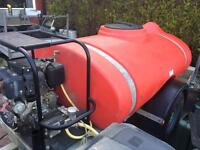 1000 litre towable jetwash pressure washer