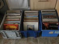 joblot of vinyl records
