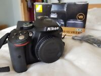 Nikon D5300 DSLR Camera (body only) with accessories, low shutter count! 24.2 MP
