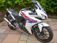 Honda CBR500R 2013 ABS Model Immaculate Condition