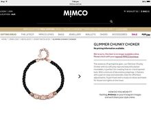 Mimco Glimmer Chunky Choke Auchenflower Brisbane North West Preview
