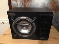 """Sony Xplod car subwoofer 800w / 8"""" speaker"""