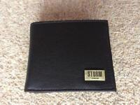 Storm Leather Wallet (with free UK postage)