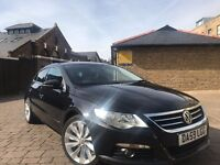 2009 VOLKSWAGEN PASSAT CC 2.0 GT CR TDI COUPE**FULL SERVICE HISTORY**HPI CLEAR**