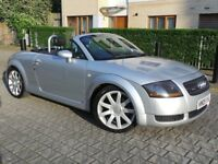 Audi TT 1.8 T Roadster Quattro 2dr£4,495 p/x welcome 6 MONTHS NATIONWIDE WARRANTY
