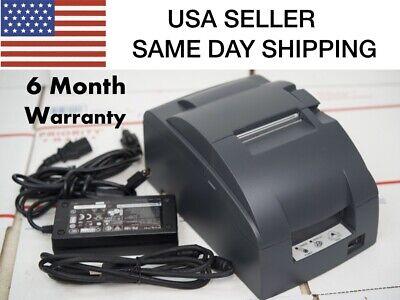 Epson Tm-u220b Ethernet Interface Pos Printer 180 Day Warranty Same Day Ship