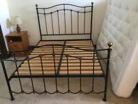 King size bed frame in excellent condition