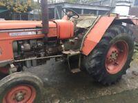 Vintage Zetor Tractor