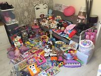 Massive Bundle job lot of toys cloths home perfect for car boot