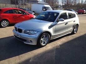 06 PLATE BMW 116I SPORT 6SPD 60800MILES 5DR SILVER £3650