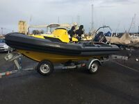 Ribquest explorer 4.9 rib for boat for sale