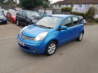 2007 Nissan Note 1.4 16v Acenta with 3mths warranty