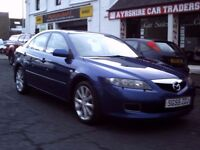 2005 55 MAZDA 6 SPORT 2.3 5DR ** 6 SPEED GEARBOX ** 88900 MILES ** GOOD SERVICE HISTORY **