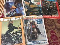 5X Superbike Magazines from 1980