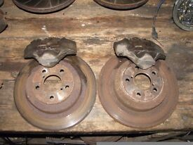 Subaru Impreza 2 Pot Rear Brake Caliper & GC8 Brackets
