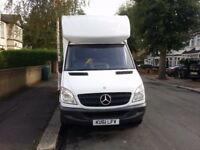 Mercedes-Benz Sprinter Luton Van 313 CDI with Tail Lift.