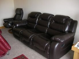 Two and three seat recliners