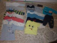 Baby boy 9-12 bundle of clothes
