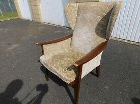 Vintage / Retro Parker Knoll wingback Armchair