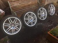 "Audi 'Le Mans' Alloys Wheels VW Transporter T4 RS6 19"""