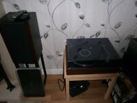 Pioneer record PL 12D in near showroom condition for 40 year old deck.Plays great.