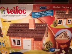 Teifoc build and play with real bricks
