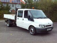 FORD TRANSIT CREW CAB TIPPER 2005