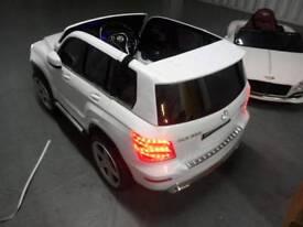 Mercedes AMG GLK 350 12v licensed kids electric ride on brand new boxed
