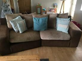 4seater, 2seater, chair and pouf
