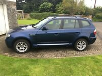 BMW X3 4x4 2.5i manual E83 Sport Aerodynamic Kit only 80K miles
