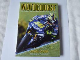 Motocourse Annual 2005 - 2006 30 Year (ex cond)