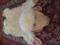Used. Good condition Childs/Nursery Sheep Rug (42 x 20 inches)