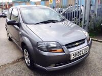CHEVROLET KALOS 1.2 S PETROL1.2 MANUAL 2006 1 OWNER 65000 MILES