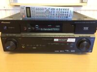 Pioneer VSX-1017 Home Cinema Receiver, Crisp Clear Sound, Fully Working Good Condition.