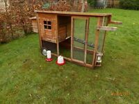 2 x chicken houses and various feeders etc