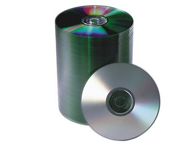 600 52x Shiny Silver Top Blank Cd-r Cdr Disc
